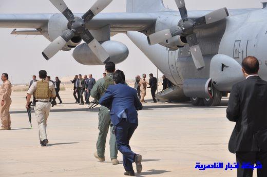 تقرير مصور عن وصول رئيس الوزراء العراقي إلى مدينة الناصرية Nasiriyah002