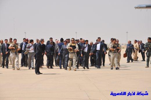 تقرير مصور عن وصول رئيس الوزراء العراقي إلى مدينة الناصرية Nasiriyah003