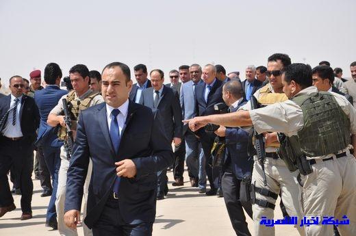 تقرير مصور عن وصول رئيس الوزراء العراقي إلى مدينة الناصرية Nasiriyah005