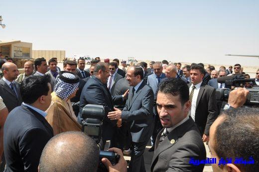 تقرير مصور عن وصول رئيس الوزراء العراقي إلى مدينة الناصرية Nasiriyah006