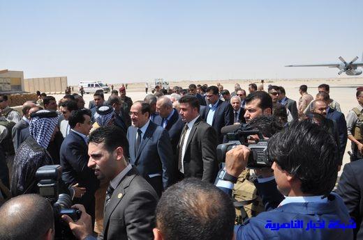 تقرير مصور عن وصول رئيس الوزراء العراقي إلى مدينة الناصرية Nasiriyah007