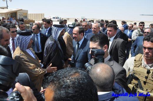 تقرير مصور عن وصول رئيس الوزراء العراقي إلى مدينة الناصرية Nasiriyah008