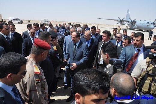 تقرير مصور عن وصول رئيس الوزراء العراقي إلى مدينة الناصرية Nasiriyah009