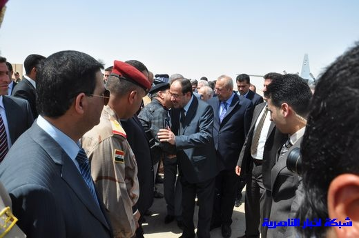 تقرير مصور عن وصول رئيس الوزراء العراقي إلى مدينة الناصرية Nasiriyah010