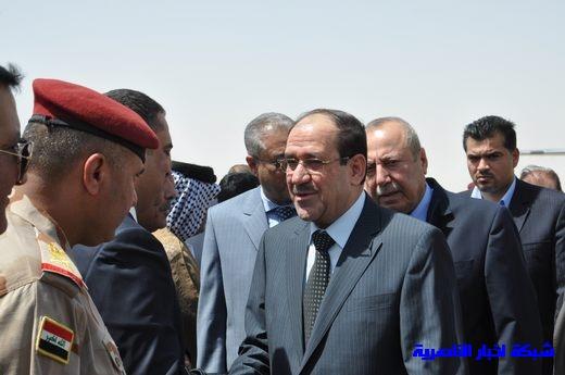 تقرير مصور عن وصول رئيس الوزراء العراقي إلى مدينة الناصرية Nasiriyah011