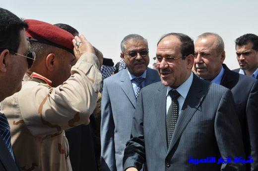 تقرير مصور عن وصول رئيس الوزراء العراقي إلى مدينة الناصرية Nasiriyah012