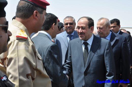 تقرير مصور عن وصول رئيس الوزراء العراقي إلى مدينة الناصرية Nasiriyah014