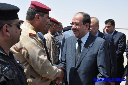تقرير مصور عن وصول رئيس الوزراء العراقي إلى مدينة الناصرية Nasiriyah015