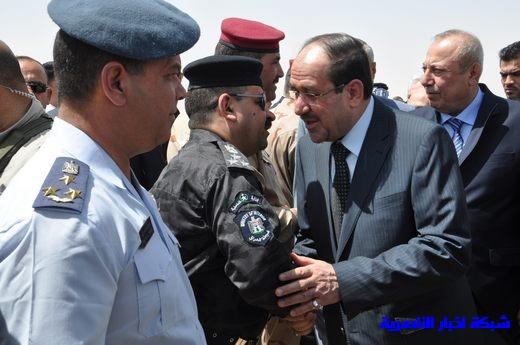 تقرير مصور عن وصول رئيس الوزراء العراقي إلى مدينة الناصرية Nasiriyah019