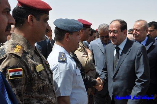 تقرير مصور عن وصول رئيس الوزراء العراقي إلى مدينة الناصرية Nasiriyah020