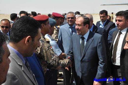 تقرير مصور عن وصول رئيس الوزراء العراقي إلى مدينة الناصرية Nasiriyah021