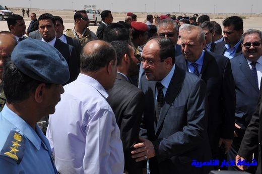 تقرير مصور عن وصول رئيس الوزراء العراقي إلى مدينة الناصرية Nasiriyah022