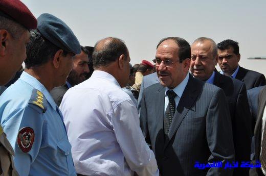 تقرير مصور عن وصول رئيس الوزراء العراقي إلى مدينة الناصرية Nasiriyah023