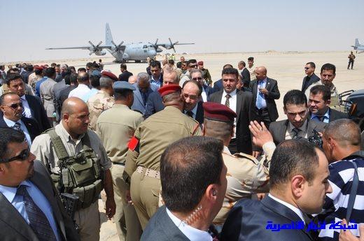 تقرير مصور عن وصول رئيس الوزراء العراقي إلى مدينة الناصرية Nasiriyah025