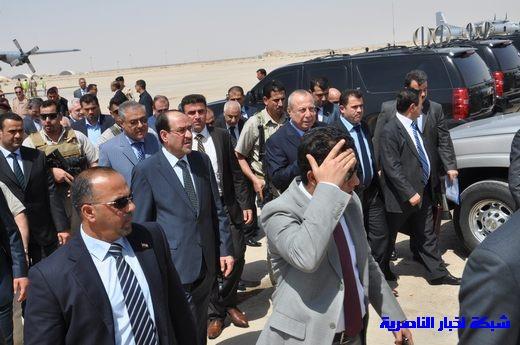 تقرير مصور عن وصول رئيس الوزراء العراقي إلى مدينة الناصرية Nasiriyah026