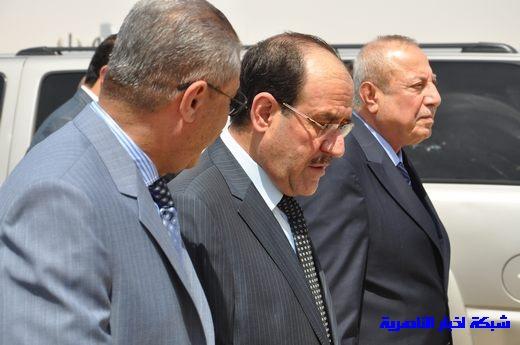 تقرير مصور عن وصول رئيس الوزراء العراقي إلى مدينة الناصرية Nasiriyah027