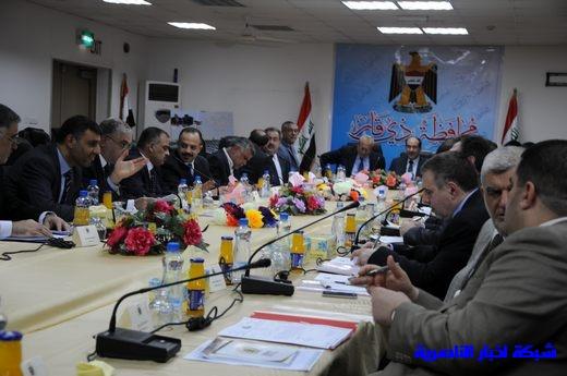 بدأ الجلسة الاعتيادية لمجلس الوزراء العراقي في محافظة ذي قار – تقرير مصور  Nasiriyah002