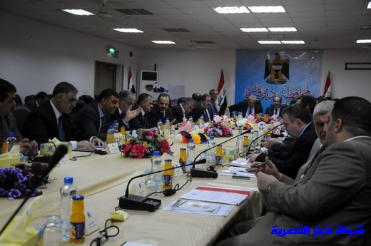 بدأ الجلسة الاعتيادية لمجلس الوزراء العراقي في محافظة ذي قار – تقرير مصور  Nasiriyah004