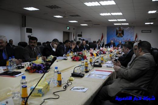 بدأ الجلسة الاعتيادية لمجلس الوزراء العراقي في محافظة ذي قار – تقرير مصور  Nasiriyah007