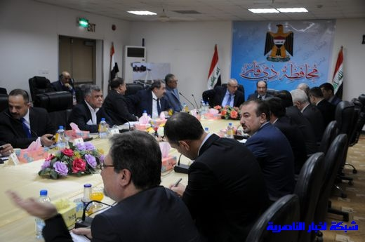بدأ الجلسة الاعتيادية لمجلس الوزراء العراقي في محافظة ذي قار – تقرير مصور  Nasiriyah009