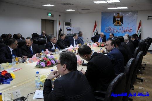 بدأ الجلسة الاعتيادية لمجلس الوزراء العراقي في محافظة ذي قار – تقرير مصور  Nasiriyah010
