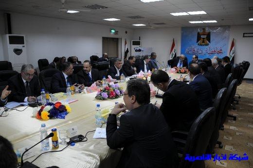 بدأ الجلسة الاعتيادية لمجلس الوزراء العراقي في محافظة ذي قار – تقرير مصور  Nasiriyah011
