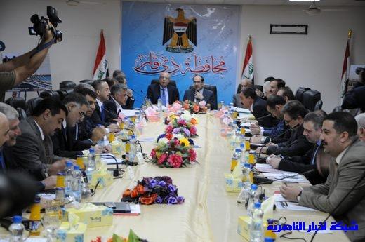 بدأ الجلسة الاعتيادية لمجلس الوزراء العراقي في محافظة ذي قار – تقرير مصور  Nasiriyah012
