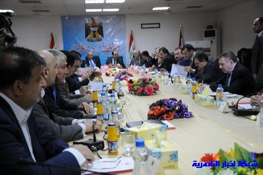 بدأ الجلسة الاعتيادية لمجلس الوزراء العراقي في محافظة ذي قار – تقرير مصور  Nasiriyah018