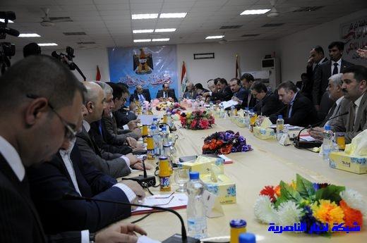 بدأ الجلسة الاعتيادية لمجلس الوزراء العراقي في محافظة ذي قار – تقرير مصور  Nasiriyah020