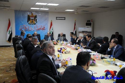 بدأ الجلسة الاعتيادية لمجلس الوزراء العراقي في محافظة ذي قار – تقرير مصور  Nasiriyah025