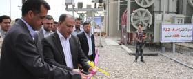 افتتاح محولة ثانوية بسعة 63 ميكا واط في محطة شمال الناصرية بكلفة 8 مليار دينار