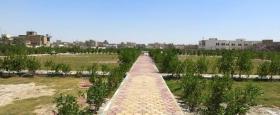 انجاز عدد من الحدائق في مركز محافظة ذي قار