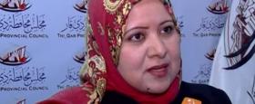 فيديو:الزهيري تنتقد خلو جدول إعمال الجلسة من مناقشة القضاء الأمنية