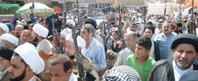 الحوزة العلمية في الناصرية تعلن تشكيل فوج السيد الحبوبي