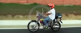 برازيلي يبتكر دراجة نارية تعمل بالماء