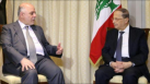 العبادي يلتقي الرئيس اللبناني في عمان
