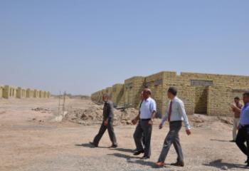 استثمار ذي قار :مجمع بيسان السكني ينجز 50 منزلا ويباشر البيع بالتقسيط