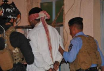 اعتقال مطلوبين اثنين بقضايا ارهاب وسط الناصرية