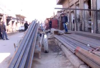 فيديو :مطالبات برفع ورش الحدادة من الاحياء السكنية في الناصرية