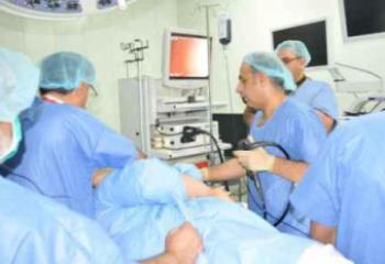 صحة ذي قار تعلن عن إجراء أول عملية بالون لمعدة مريض يزن 250 كغم