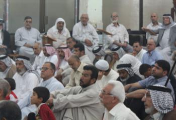 صلاة الجمعة في مدينة الناصرية - تقرير صوتي مصور-