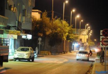 كهرباء ذي قار تطلق حملة لانارة شوارع الرئيسية بمركز مدينة الناصرية