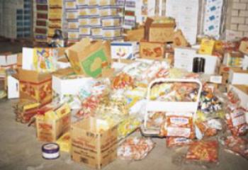 صحة ذي قار تتلف ثلاثة اطنان من الاغذية الفاسدة وتغلق 80 محلا تجاريا