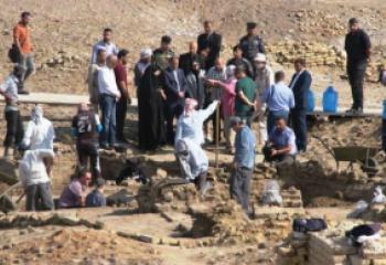 بعثة تنقيب اثارية في (تل زرغل) بالدواية بعد مائة عام من توقف التنقيب فيه