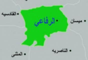 وحدة الشعائر الحسينية تنظم حملة لانارة الشوارع وترميم الجزرات الوسطية في الرفاعي