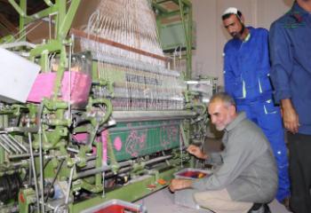 معمل الحصيرة في ذي قار ينتج 700 قطعة في اول شهرين من عمله