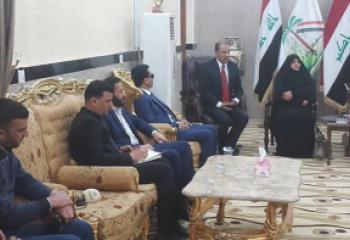 الناصري يطالب خلال استقباله روابط الخريجين والطلبة والشباب بإصلاح المنظومة الاقتصادية لتوفير فرص عمل للعاطلين