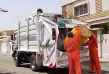 نغمات صوتية خاصة لعجلات النظافة في بلدية سوق الشيوخ