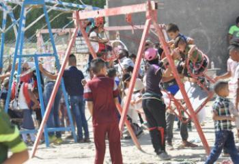 بالصور:مظاهر اول ايام عيد الفطر في مدينة الناصرية