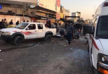 استشهاد واصابة 12 مواطنا من ذي قار في تفجير بغداد الارهابي